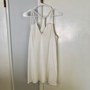 Urban Outfitters White Sleeveless Dress
